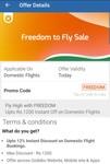 Flat 12% discount on domestic flights upto max Rs 1200 on goibibo.com