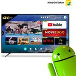 CloudWalker CloudTV 139cm (55 inch) Ultra HD (4K) LED Smart TV (CLOUD TV 55SU)