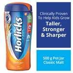 [Pantry] Horlicks Health & Nutrition drink - 500 g Pet Jar (Classic Malt) Rs. 140