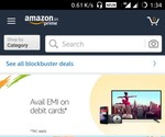 Now amazon is also offering emi on debit cards..