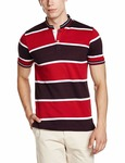 Root By Ruggers Men T-Shirts (8907542561483_271918905_MAROON_S_HS)