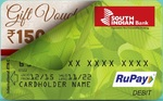 Free Rs150 Amazon gift voucher (South Indian Bank users only)