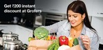 Get 250 rs discount on grofers for new user 200 for existing user