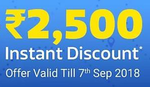 Flipkart Travel :-  Upto ₹2500 instant discount  using debit, credit cards and net banking on Domestic Ticket Booking
