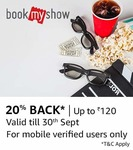 Bookmyshow page