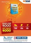 Big BazaarIs Back AgainWith ItsPublic Holiday SaleFor 5 Days Between29th Sep To 3rd Oct 2018
