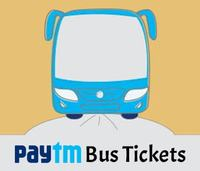 Paytm - Flat Rs 200 Cashback on Bus Tickets