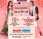 Only For Today - Flat Rs. 500 Cashback On Amazon Fashion