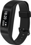 Flipkart : Lenovo HW01 Smart Band with Heart Rate Monitor  (Black Strap, Size : Regular)