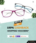 Coolwinks:Extra Upto 40% on Eyeglasses and Sunglasses on app +100% cashback