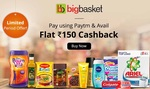 Bigbasket paytm offer