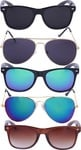 LOOT FAST-Pack Of 5 Sunglasses @293