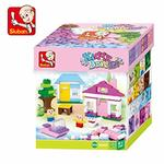 Sluban M38 B0503 Kiddy Bricks, Multi Color (415 Pieces