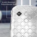 Mosaic Cabin Luggage - 22 inch  (Silver) 74%OFF