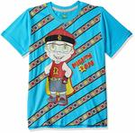 Chhota Bheem Boy's Plain Regular Fit T-Shirt (7 to 8 year)