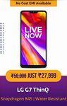 LOWEST LG G7 ThinQ (4 GB RAM    64 GB) @ ₹27,999 (44% Off) & @ ₹26,499 (47% Off) with SBI Credit Cards    26-29 Dec