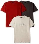 Proline Men's Plain Regular Fit T-Shirt(Pack of 3) @359  Size : S