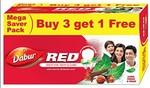 (lightning deal)Dabur Red Paste, 150g (Buy 3 Get 1 Free)