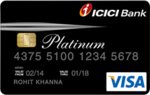 ICICI Lifetime Free Platinum Chip credit card