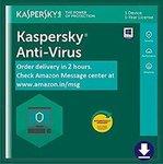 Kaspersky Anti-Virus - 1 PC, 1 Year