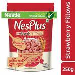 Nestle NesPlus Breakfast Cereals, Multigrain Fillows - Strawberry Burst, 250g