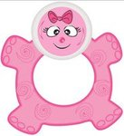 Buddsbuddy BB7040 Premium Baby Teether (Pink) for 56