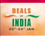 Snapdeal Deals of India sale 20th jan to 24th Jan