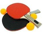 Aurion TT200 Plastic Table Tennis Set (Black)