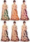 Pick Any 1 Semi-Stitched Women's Lehenga Choli By 1 Stop Fashion