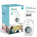 40% off on TP-Link HS100 Wi-Fi Smart Plug (White) - Control Your Devices from Anywhere, No Hub Required, Works with Amazon Alexa and Google Assistant