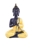D8a0723e f8d1 40a6 b198 ec997a0025ce1538818416555 archies gold toned  black buddha showpiece 7111538818416429 2