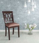 Peak dining chair in brown colour by  home peak dining chair in brown colour by  home fhx1l9