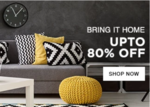 80% Off On Home Decor Products