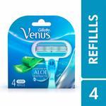 Gillette Venus Razor Blades for Women - 4 Pieces (Pantry)
