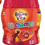 Bournvita Little Champs Pro-Health Chocolate Drink, 500 gm Jar