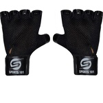 Sports 101 Genuine Leather Netted Gym & Fitness Gloves with Wrist Support @ 161( apply 30₹ off coupon)