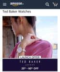 Ted Baker watches 20-60% off