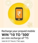 Recharges & Bill Payments upto 100% Cashback (march Offers All at one place)