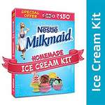 {STEAL} [PUNE PANTRY] Nestle MILKMAID Ice Cream Kit - MILKMAID (400g) + D'lecta Cream (200ml) + Food-Grade Container + Recipe Booklet