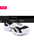 Reebok Acciomax Navy & White Running Shoes 70%OFF