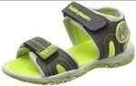Bubblegummers Boy's ABEL Green Indian Shoes-8 Kids