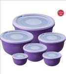 Ratan  - 3000 ml, 1800 ml, 1020 ml, 620 ml, 350 ml, 200 ml Plastic Grocery Container..