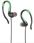 Riversong Sports Ear Hooks with Mic (Green-Black)