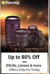Flipkart - The Perfect Click Store || Upto 80% off on Lenses , Dslr nd many more