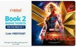 Paytm : 100% Cashback Upto 150 On 2nd Moive Ticket On Capital Cinemas( User Specific)
