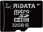 ridata 32GB 32 GB SDHC Class 10 20 MB/s  Memory Card