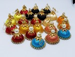 Silk Thread Earrings At 110 Only With Zero Shipping MRP 499