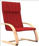 Forzza Eva Kid's Chair (Matt Finish, Red)