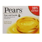 Pantry - Pears Pure and Gentle Soap Bar, 125g (with 20% Extra) at rs 50