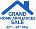 Flipkart Grand Home Appliances Sale Upto 65% Off + 10% Cashback on Citi Credit Cards | 22-24 March